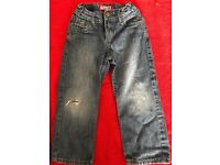 Boys (4 yrs) LEVIS Jeans (two jeans) in good condition