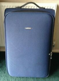 Blue Hard Shell Suitcase *Used for One Holiday Only*