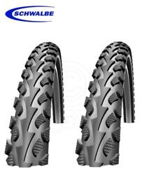 Schwalbe mountain bike tyres. 26x2.0, New.