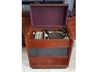 Vintage Ferguson Model 322A 1950s Valve Radiogram, Automatic Changer R.C75A