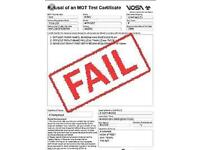 We buy your mot failure! Upto £500