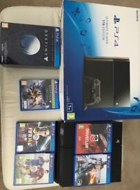 PS4 1TB Edition Boxed as New with Games