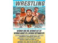 Live Wrestling In Livingston - Monthly Shows - Family Friendly