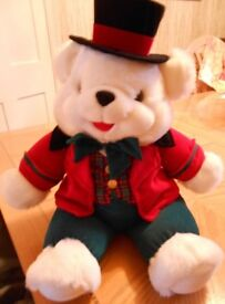 """LARGE PLUSH TEDDY BEAR FROM DAN DEE 23"""" RARE - COLLECTABLE EXCELLENT CONDITION"""