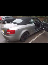 AUDI A4 1.8 CONVERTIBLE NEED TO GO SOON