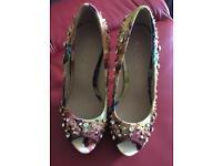 Aldo multicoloured heels