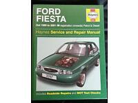 Ford fiesta (1995/2001) Haynes Manual