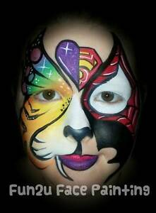 Face Painting, Glitter Tattoos, Balloons Sydney Region Preview