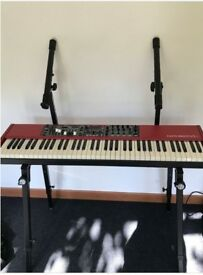 Nord Electro 5D (73 Semi weighted keys) + 2 tier keyboard stand