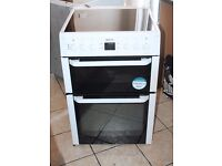 AA ENERGY RATED Beko 60cm, double oven electric cooker WARRANTY GIVEN