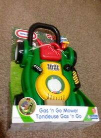 Little tikes bubble lawn mower gift toy BRAND NEW