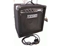 Fender Rumble 15W Bass Guitar Amplifier