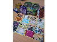 Pokemon cards - legendary and tin