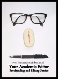 Academic Proofreading and Editing Service for Essays and Dissertations