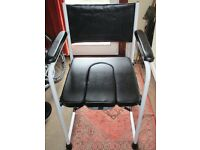 Unused Brand New Luxury Padded Comfortable Commode Chair