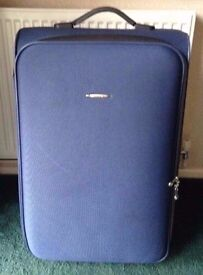 Blue Hard Shell Suitcase *Used Once*