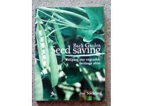 Back Garden Seed Saving by Sue Strickland
