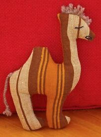 Handmade Soft Toy Camel. New