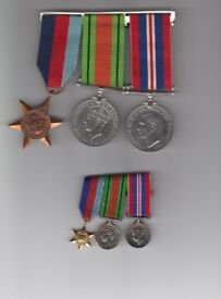 ww2 medals and miniatures