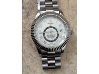 Selection of watches Breitling Rolex Tag Heuer Mont Blanc