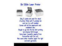 Oki 532dn COLOUR Laser Printer (2 weeks old)