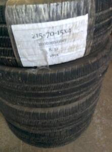 pneus usages ete 215 70 15 goodyar alegra