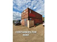 40ft X-Large STORAGE CONTAINERS AVAILABLE TODAY IN BARKING
