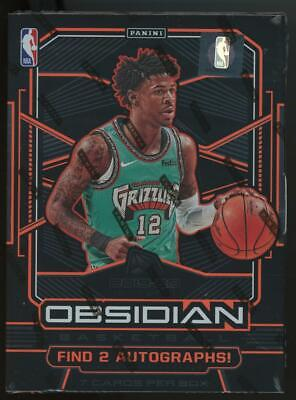 2019 Panini Obsidian Basketball Factory Sealed Hobby 1 Pack Box Zion Ja RC?