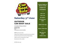 Outdoor Car Boot Sale in Kentish Town, NW5 on Saturday 3rd June