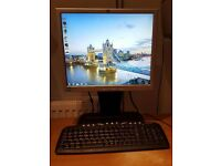 "Bargain!! Wifi Ready Mini Tower PC c/w 17"" Flat Screen Monitor Keyboard & Mouse"