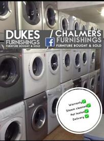 Washing machines from £99 with warranty delivery available