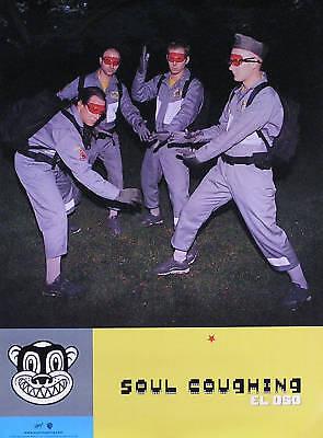 Soul Coughing 1998 El Oso Original Promo Poster