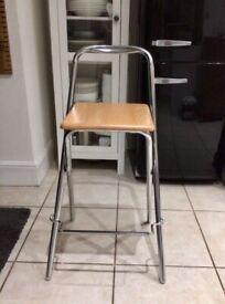 John Lewis folding bar stool