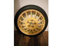 Mazda spare wheel