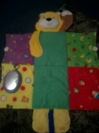 Snuggle teddy mat