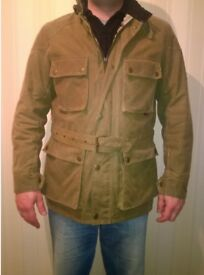 Roadmaster Belstaff Olive Jacket! Newer Worn! Size L