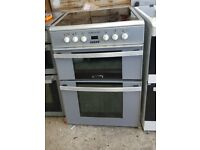 6 MONTHS WARRANTY Leisure 60cm, double oven electric cooker FREE DELIVERY