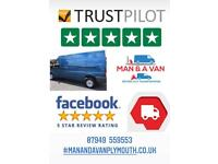 MAN & A VAN SERVICES PLYMOUTH AND SURROUNDING AREAS