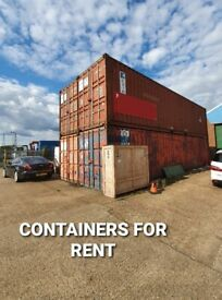 40ft X-Large Storage Containers Available for Rent in Barking