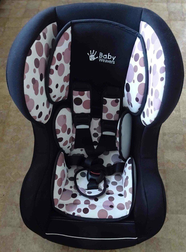 kiddicare baby weavers group 0 1 isofix car seat in. Black Bedroom Furniture Sets. Home Design Ideas