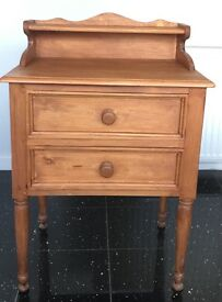 Telephone Table Solid Pine