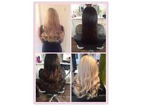 Hair extensions from £180