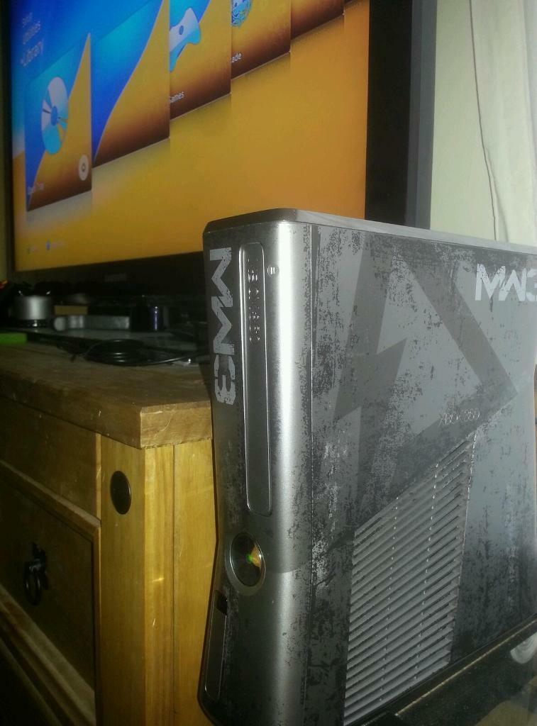 Xbox 360 Slim Custom Console Xbox 360 Slim s Console Mw3 Special Custom Plus Extras