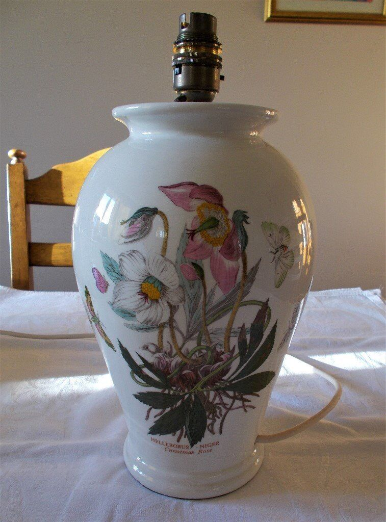 Portmeirion Table Lamp Botanic Garden In Copmanthorpe