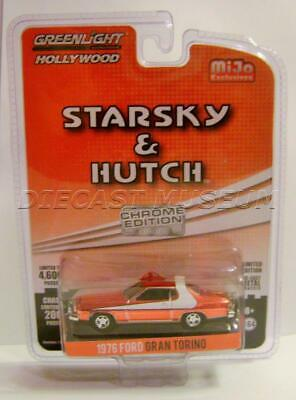 1976 Ford Gran Torino - 1976 '76 FORD GRAN TORINO STARSKY & HUTCH CHROME EDITION MIJO GREENLIGHT 2018