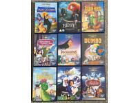 Childrens Walt Disney DVDs