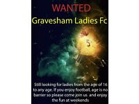 Players Wanted for Gravesham Ladies Football Club, any ladies interested in playing football