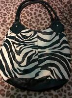 Large Zebra Print Purse