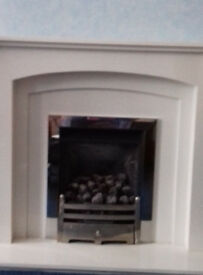 stainless steel gas fire