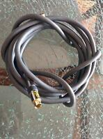 Gold plated acoustic research 12ft S-video cable